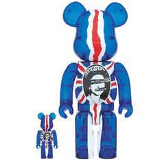 Medicom Be 2016 Sex Pistols 400 100 God Save The Queen Bearbrick for sale online Save The Queen, Designer Toys, Union Jack, Art Reference, Smurfs, Action Figures, The 100, Disney Characters, The Originals