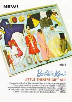 Doll Toys, Barbie Dolls, Little Theatre, Barbie Family, Vintage Barbie Clothes, Ken Doll, Stars At Night, Barbie Collector, Barbie And Ken