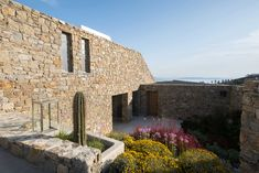 Mykonos Greece, Villa, Mansions, House Styles, Home Decor, Decoration Home, Manor Houses, Room Decor, Villas