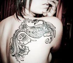 henna style phoenix - Google Search