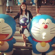 Doraemon! #harbourcity #doraemon #100th #anniversary #tsimshatsui - @natttandy- #webstagram