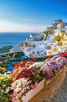 Discover The Best Things To Do In Santorini. Santorini an island in the southern Aegean Sea, about 200 km mi) southeast of Greece's mainland. Beautiful Places To Travel, Wonderful Places, Beautiful World, Vacation Places, Dream Vacations, Vacation Spots, Places Around The World, Around The Worlds, Photos Voyages