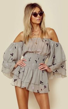 Blue Life Clothing Party Romper