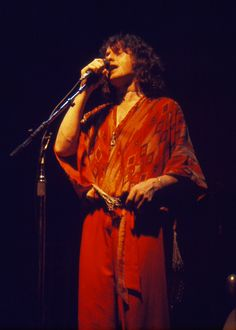 Jon Anderson, Yes, Indianapolis, August 30, 1977,