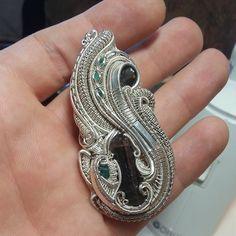 ©Andrew Steves #wirewrap #jewelry #wirewrapjewelry