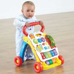 Vtech First Steps Baby Walker - Yellow