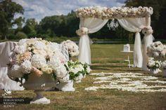 Wedding at Chateau d'Esclimont  near Paris http://www.esclimont.com thank to  http://dergousova-agency.com/wedding/