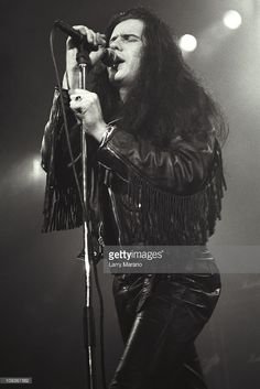 Ian Astbury of the Cult performs at the Ritz on June 2, 1987 in New York City.