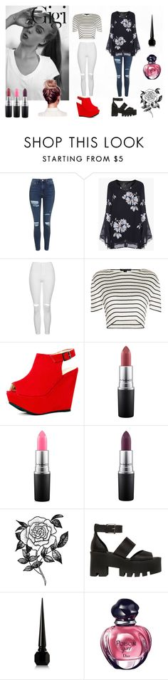 """""""My style"""" by giovana-stecanella on Polyvore featuring moda, Topshop, Alexander Wang, MAC Cosmetics, Forever 21, Windsor Smith, Christian Louboutin e Christian Dior"""