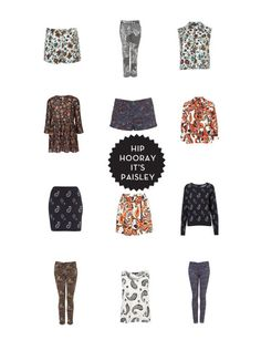 paisley by Topshop.com