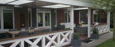 Afbeeldingsresultaat voor houten veranda hek