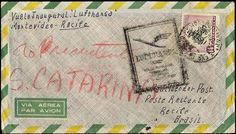 "Uruguay, Michel 785. 16. 4. 1957, LH-flight ""Montevideo-Recife"", superb cover, R!"