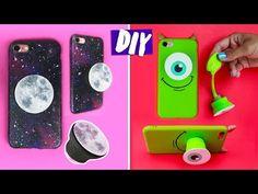 DIY POPSOCKET + CAPA DE CELULAR + SLIME! Com material reciclado! Por Isabelle Verona PARTE 1 - YouTube
