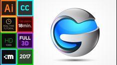 3D Logo Design Master Class - Adobe Illustrator CC Tutorial