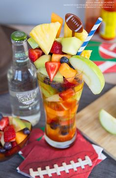 You know you're Game Day Ready when your drink is bigger than your rivalries. Make the Lone Star State proud with this delicious Smirnoff Ice Preparada piled high with fruit.  Just mix Smirnoff ICE with fresh fruit, chamoy, chili-lime seasoning and enjoy.