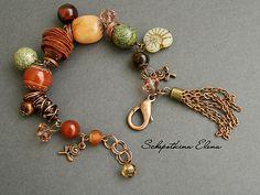 """Мадагаскар"" / ""Madagascar"" Bracelet by Schepotkina Elena. Is so beautiful, I love it!"