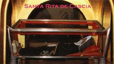 St. Rita of Cascia, one of my favorite saints.  I'll be visiting her shrine in Italy this fall. :)