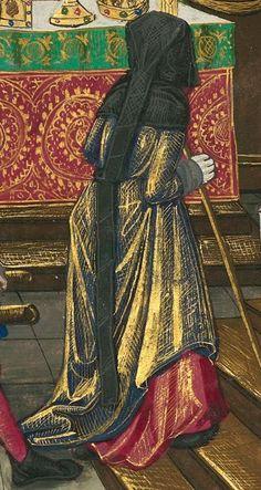 Titre : « Le Livre des faiz monseigneur saint Loys », composé à la requête du « cardinal de Bourbon » et de la « duchesse de Bourbonnois ».  Date d'édition : 1401-1500  Français 2829 folio 95r