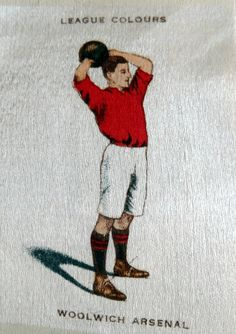 Woolwich Arsenal shirt.