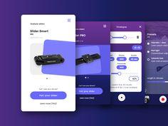 Inmotion app for camera slider - proposal