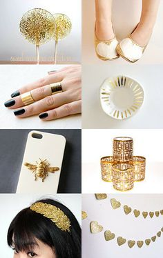 Touch of Gold by Erica on Etsy--Pinned with TreasuryPin.com
