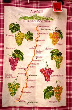 wijnroute Elzas.