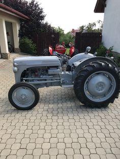 Tracteurs Farmall, Ford Tractors, Antique Tractors, Vintage Farm, Monster Trucks, Tea, Landscape, Gray, Wood