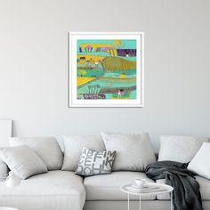 Laylart shared a new photo on Etsy Perpetual Birthday Calendar, Artwork For Living Room, Art Calendar, Linocut Prints, Wall Art Prints, Original Artwork, Print Design, Landscape, The Originals