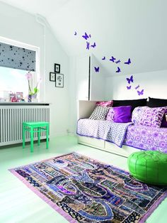 Decorate the sloping walls - Boligmagasinet