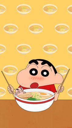 Sinchan Wallpaper, Cartoon Wallpaper Iphone, Cute Cartoon Wallpapers, Kawaii Wallpaper, Galaxy Wallpaper, Sinchan Cartoon, Crayon Shin Chan, Korean Art, Cute Disney