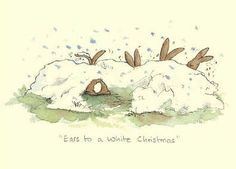 Ears to a White Christmas by Anita Jeram