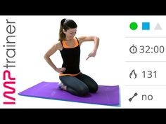 Addominali e Core Stability Con Esercizi e Movimenti di Pilates - YouTube
