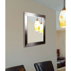 Rayne Silver Petite Wall Mirror