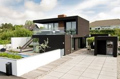 Enchanting Villa in Sweden Displaying an Interesting Blend of Simple and Rigorous Volumes - http://freshome.com/2013/08/19/enchanting-villa-in-sweden-displaying-an-interesting-blend-of-simple-and-rigorous-volumes/