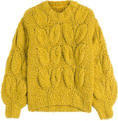 Maison  Margiela Chunky Knit Pullover with Alpaca