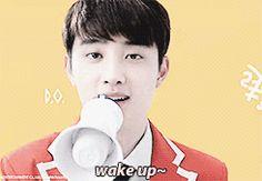 Exo's KFC cutie alarm/ringtone! Kyungsoo