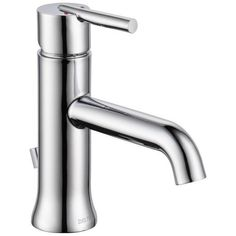Delta Trinsic Single-handle Lavatory Faucet in Chrome | Overstock.com Shopping - The Best Deals on Bathroom Faucets