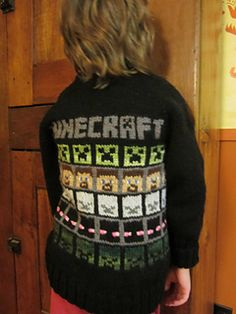 Minecraft inspired fairisle.  Free charts to be used on any pattern