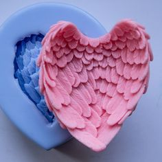 Wings 3D soap mold silicone molds mold for soap mold by GoodMolds