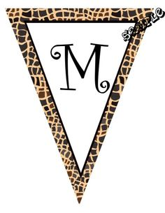 "DIY Animal Print Snake Skin Print Birthday Party Pendant Banners or Baby Shower Banners.  ANY COLOR SCHEME - ANY ANIMAL PRINT - Design Online Download & Print Immediately. Each panel measures: 8.5"" x 11"" (19.75 CM x 25.85 CM) Hot Glue or Tape Pendants to your string. Or punch holes and tie together with matching ribbon. Print at home or take to a place like Kinko's, Office Max, Copy Max, Staples or other stores that offer printing services."