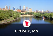 Find out what the beautiful city of Crosby, MN has to offer.
