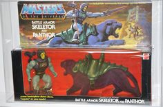 Skeletor & Panthor Masters of the Universe