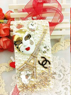 Iphone 4 & 4s cases beautiful bride iron tower shining case for your cell phone
