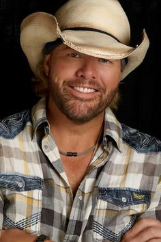 Toby Keith ♥  Seriously.... I'm his biggest fan! I have memorized all of his albums starting when I was 2:) LOVE HIM
