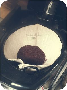 Chevron Stitches : DIY Reusable Coffee Filter