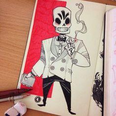 Les illustrations créatives de personnages par Eduardo Vieira