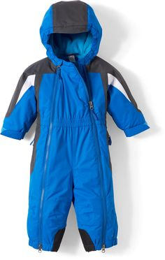 Keep that little guy warm and dry when he's out in the snow or playing on the slopes.