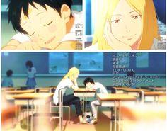 Tsukamoto Tsukushi and Kazama Jin - Days (TV) soccer anime