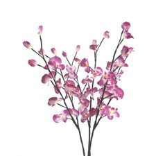 "Orchid Flower Light 39"" H Table Lamp"