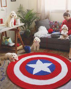 Discount Carpet Runners For Hall Beige Carpet, Diy Carpet, Patterned Carpet, Crochet Carpet, Crochet Home, Crochet For Kids, Painting Carpet, Animal Rug, Knit Rug